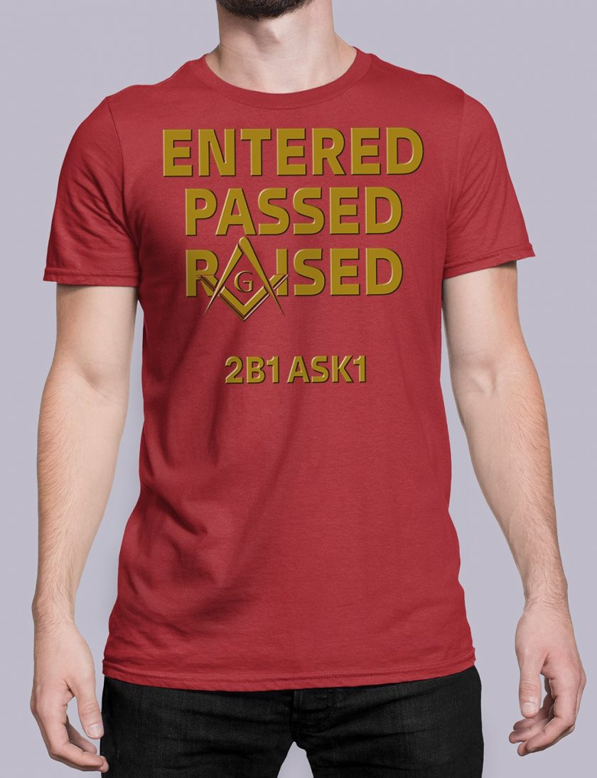 Entered Passed Raised 2B1 ASK1 red shirt 8