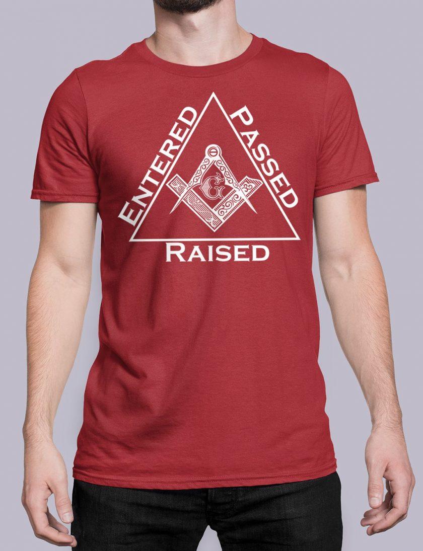 Entered Passed Raised red shirt 9