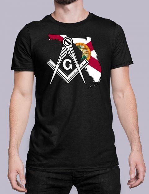 Florida Masonic Tee Florida black shirt