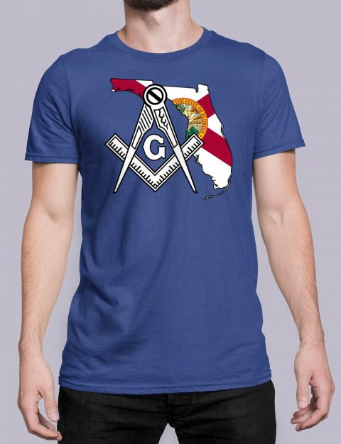 Florida Masonic Tee Florida royal shirt
