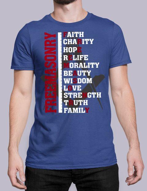 Freemasonry T-shirt Freemasonry royal shirt 13