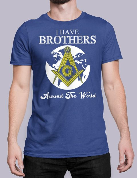 I Have Brothers Around The World T-Shirt I Have Brothers Around The World royal shirt 14