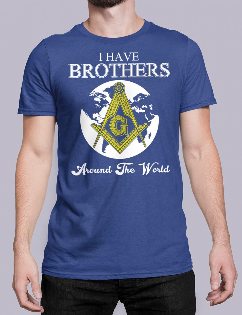 I Have Brothers Around The World royal shirt 14