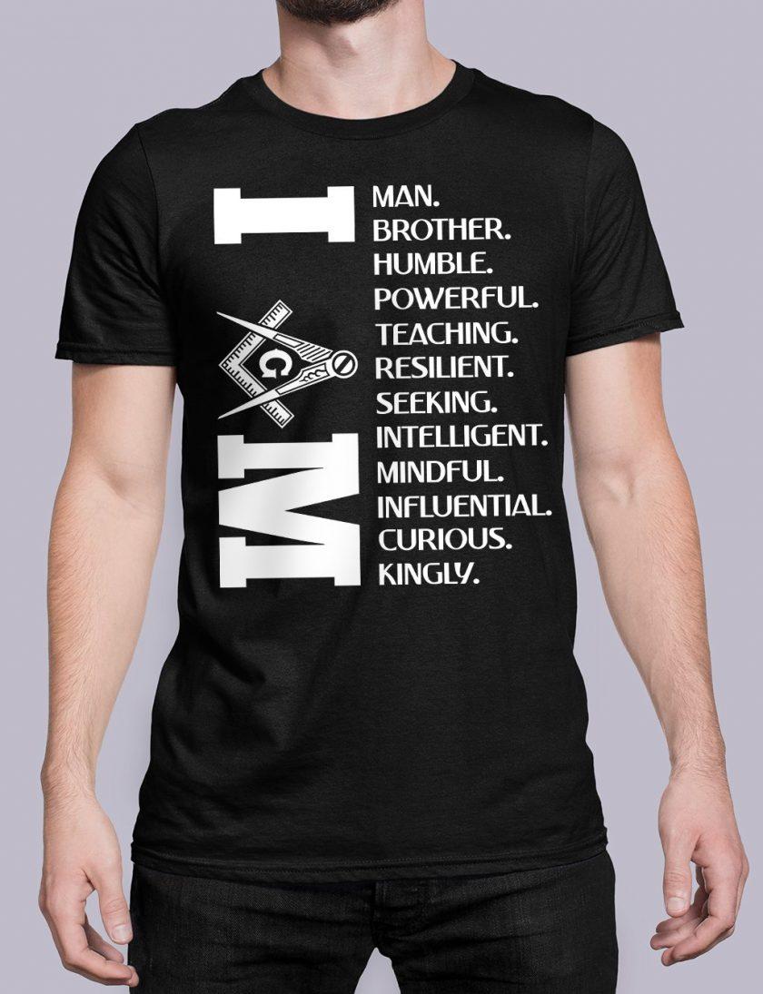 I am black shirt