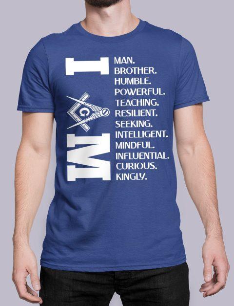 I Am Masonic T-Shirt I am royal shirt