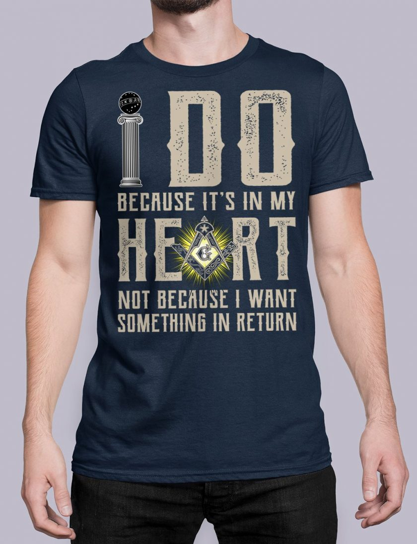 I do masonic navy shirt 15