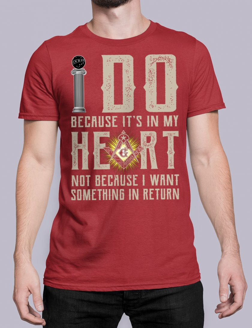 I do masonic red shirt 15