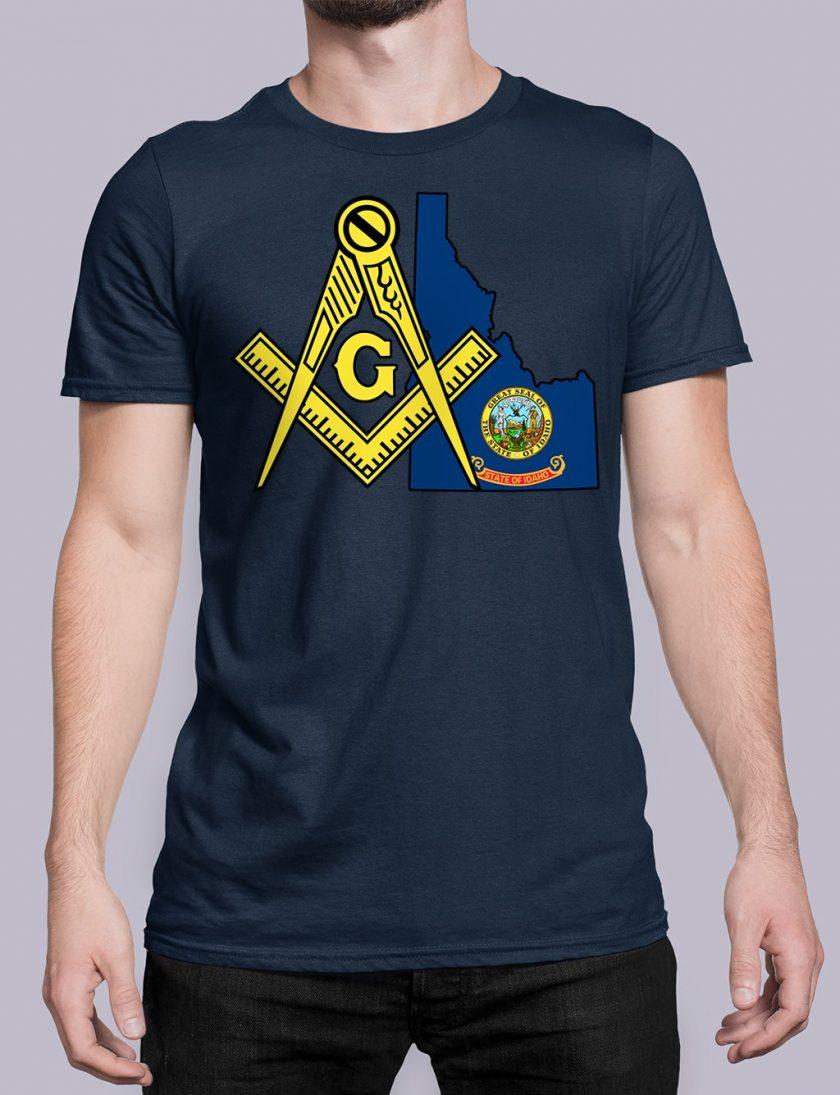 Idaho navy shirt