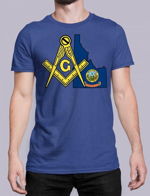 Idaho Masonic Tee Idaho royal shirt