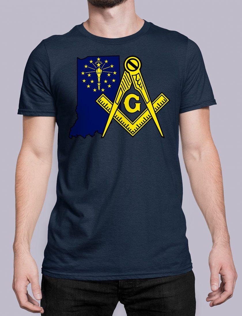 Indiana navy shirt