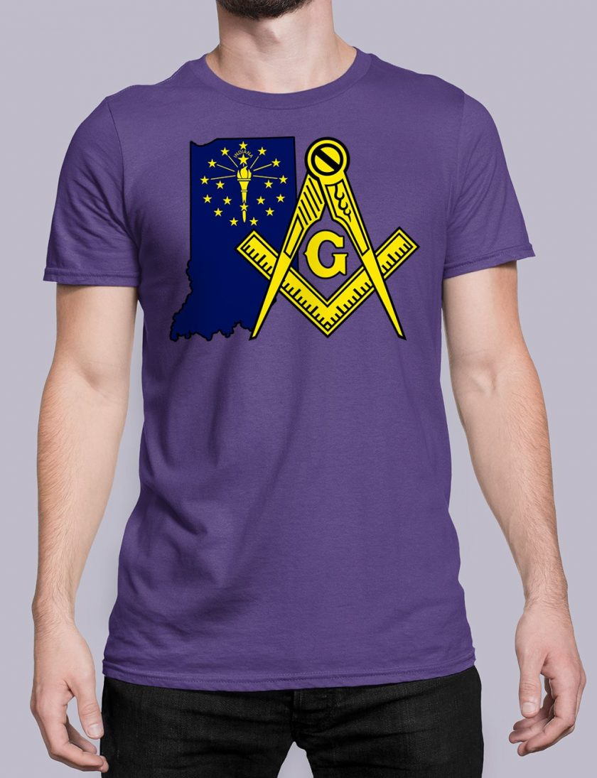 Indiana purple shirt