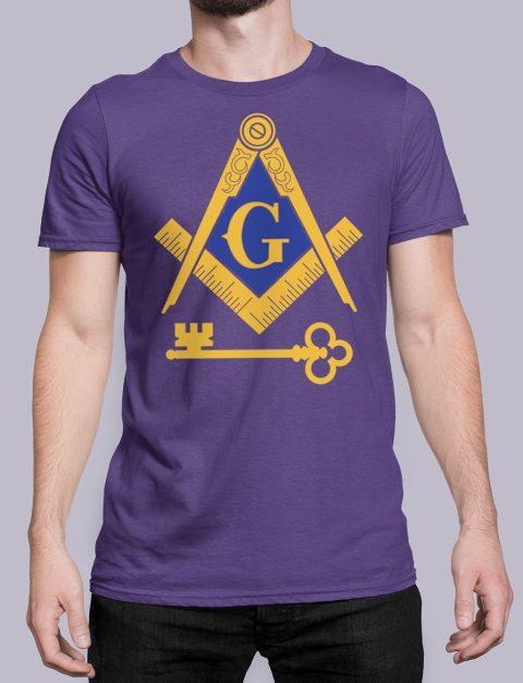 International Masons T-Shirt International Masons purple shirt 16