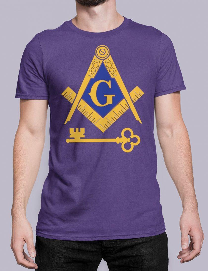 International Masons purple shirt 16