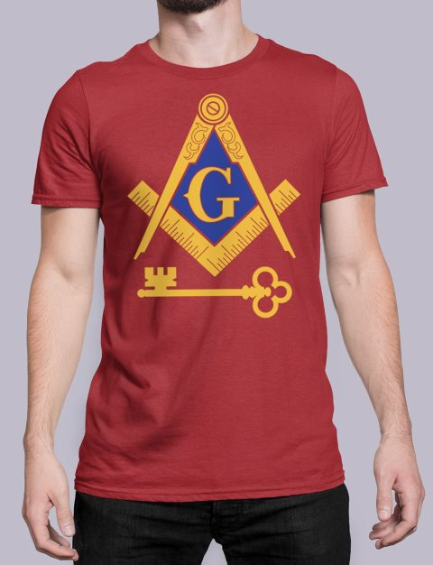 International Masons T-Shirt International Masons red shirt 16