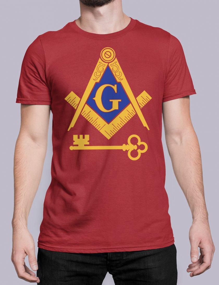 International Masons red shirt 16