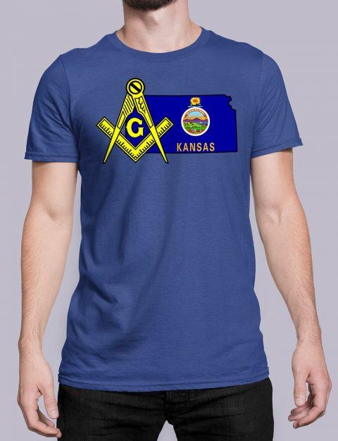 Kansas Masonic Tee Kansas royal shirt