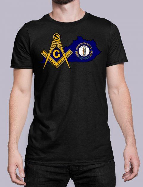 Kentucky Masonic Tee Kentucky black shirt