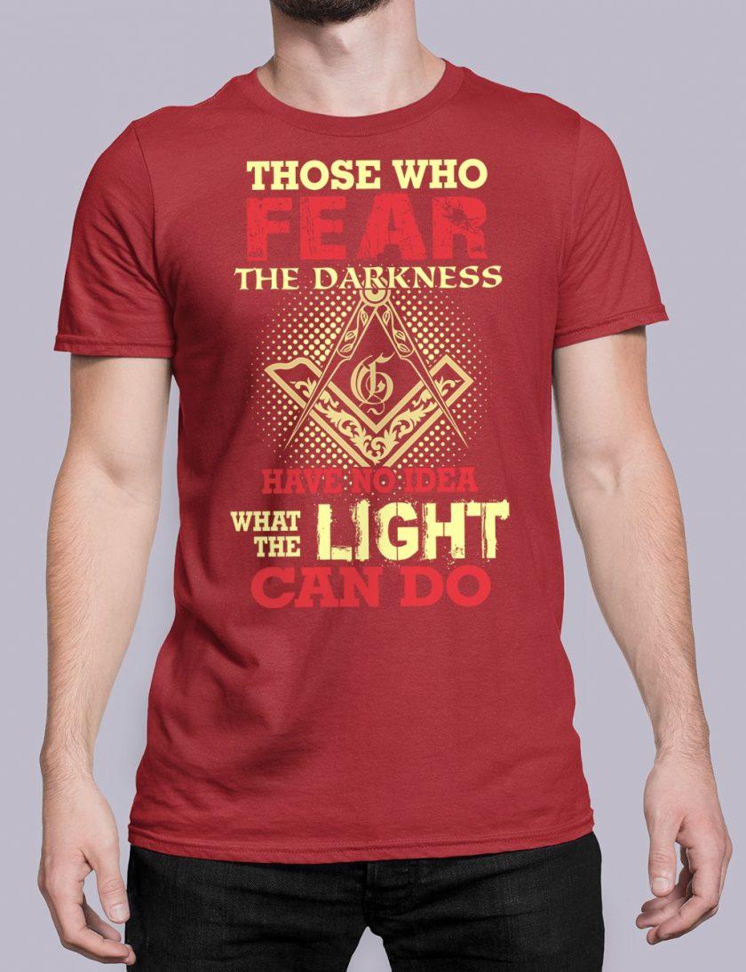 Light Can Do red shirt 18