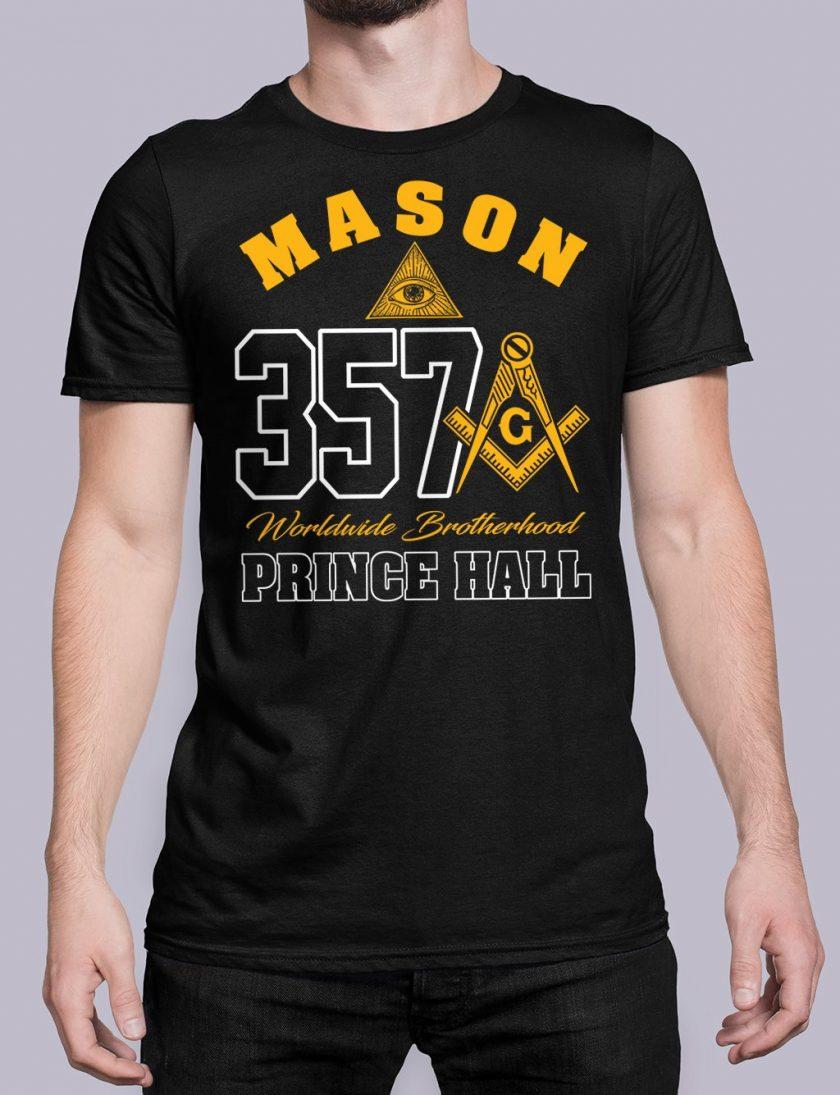 MASON 357 PRINCE HALL black shirt 19
