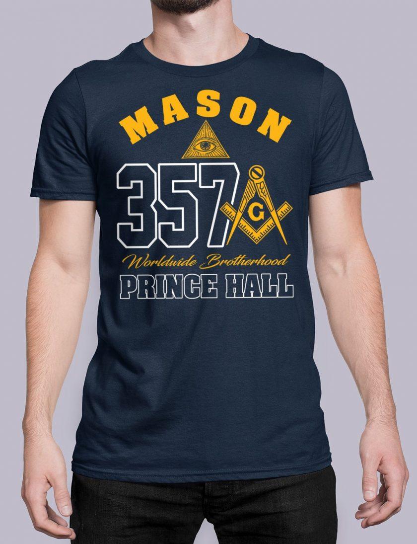 MASON 357 PRINCE HALL navy shirt 19