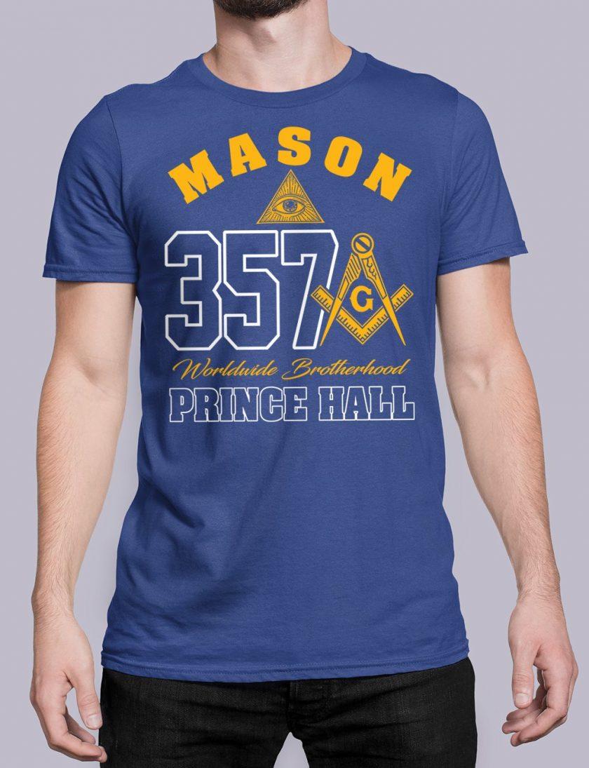MASON 357 PRINCE HALL royal shirt 19