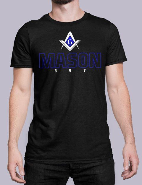 Mason 357 T-Shirt Mason357 black shirt 20