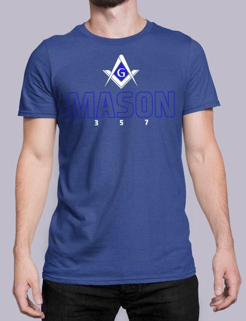 Mason 357 T-Shirt Mason357 royal shirt 20