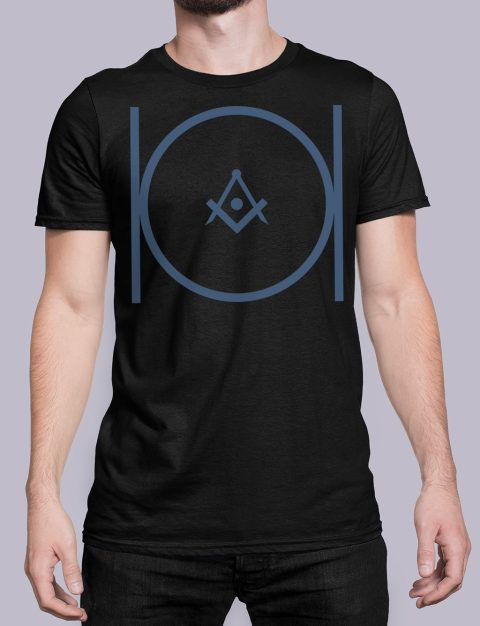 Masonic T-shirt Masonicblack shirt 24