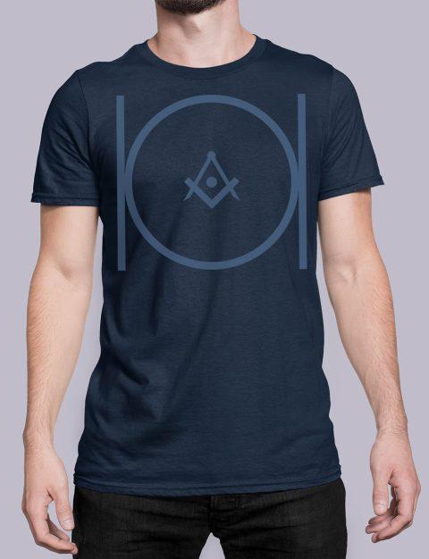 Masonic T-shirt Masonicnavy shirt 24