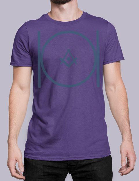 Masonic T-shirt Masonicpurple shirt 24