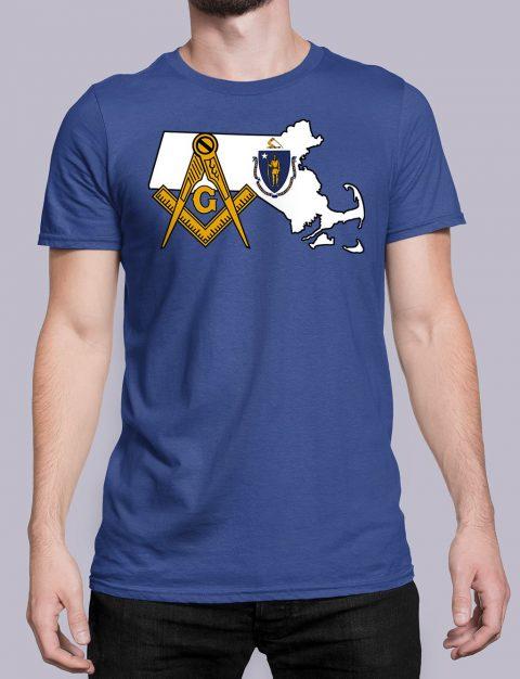 Massachusetts Masonic Tee Massachusetts royal shirt