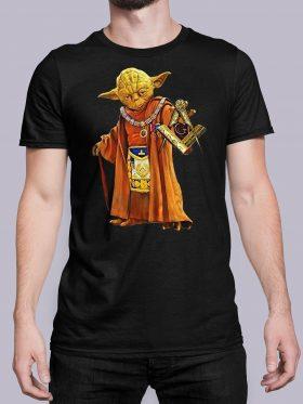 Home Master Yoda black shirt 25