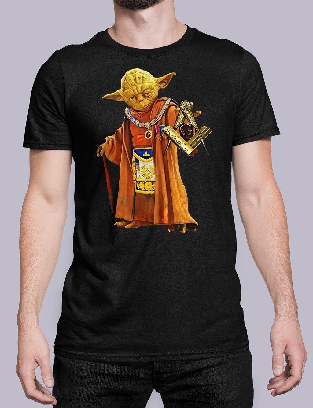 Master Yoda black shirt 25