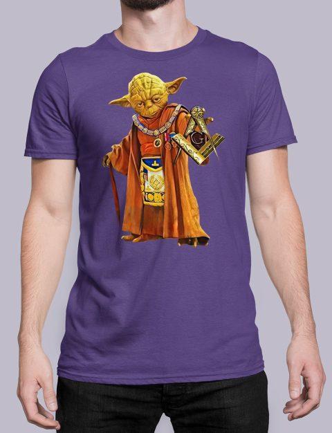Master Yoda Masonic T-Shirt Master Yoda purple shirt 25