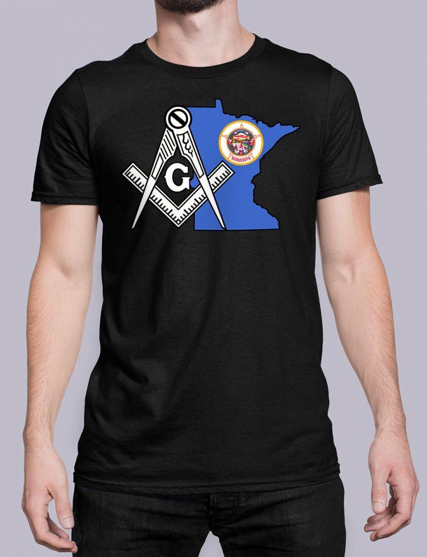 Minnesota black shirt