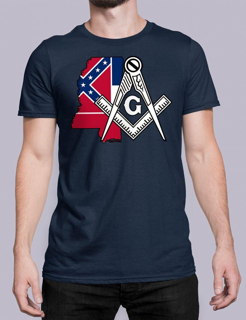 Mississippi navy shirt