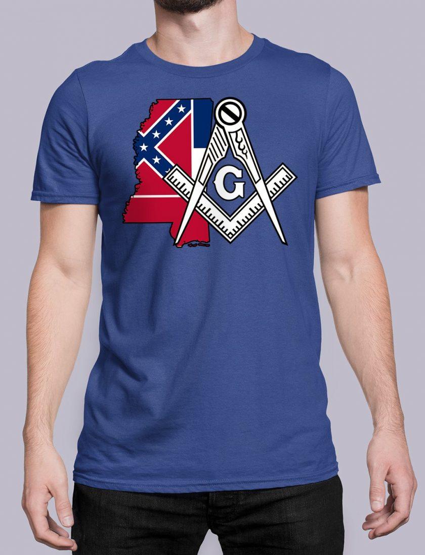 Mississippi royal shirt