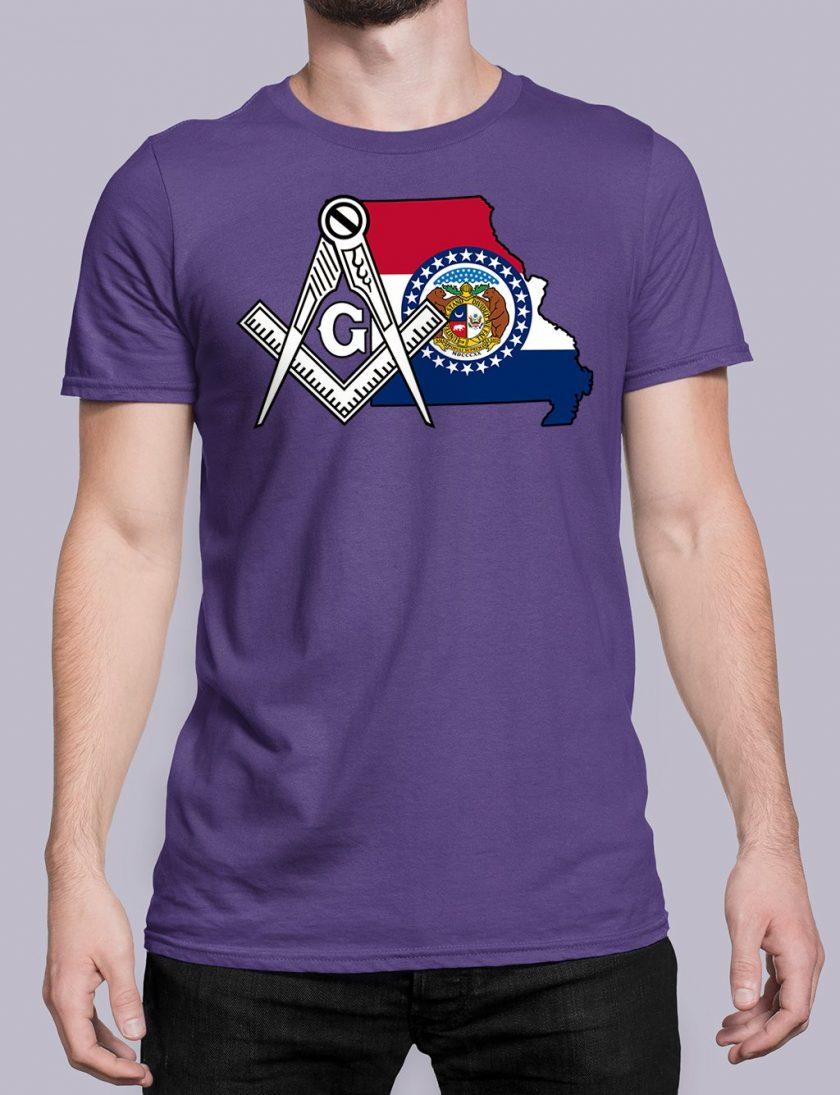 Missouri purple shirt