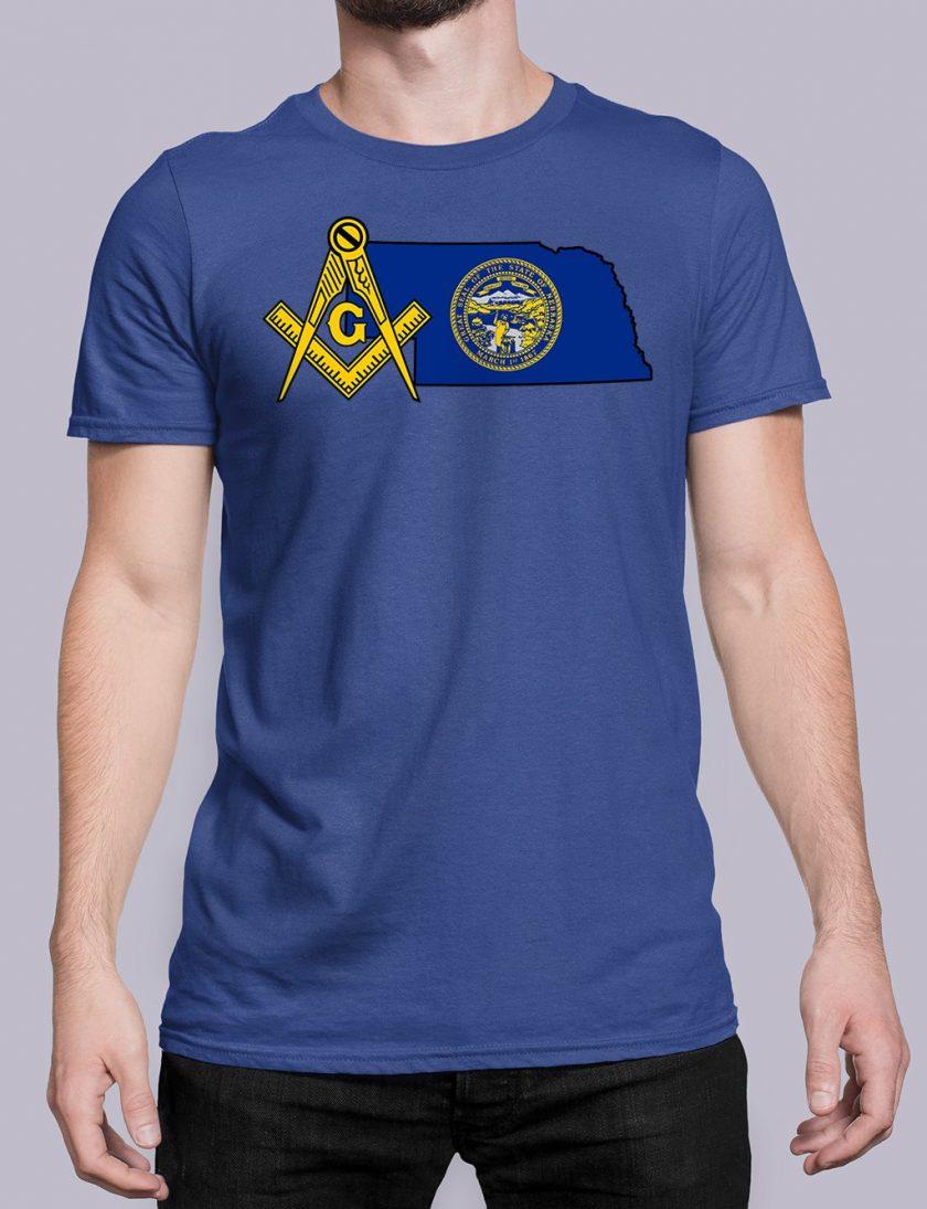 Nebraska royal shirt