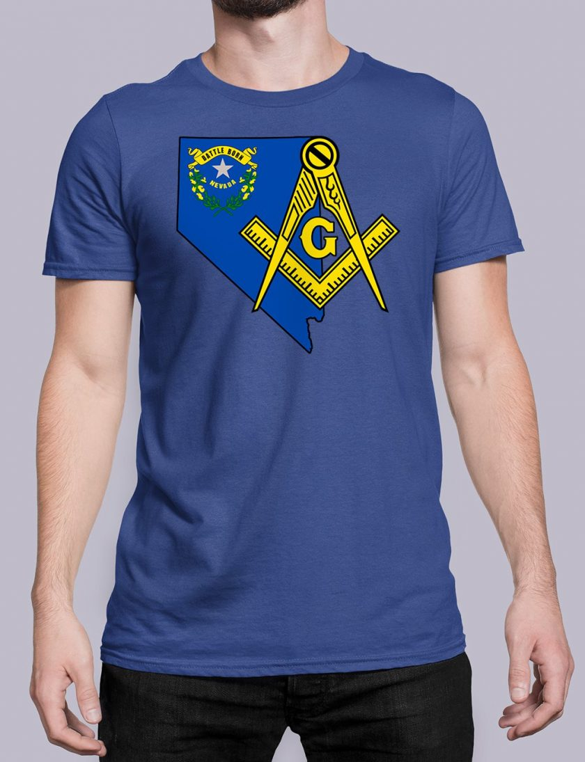 Nevada Masonic Tee Nevada royal shirt