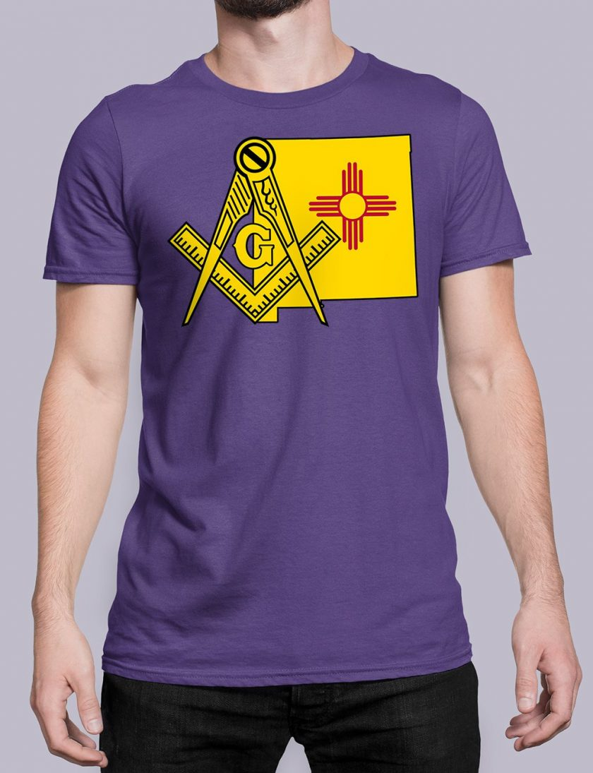 New Mexico purple shirt