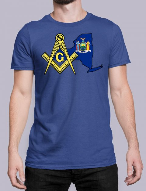 New York Masonic Tee New York royal shirt
