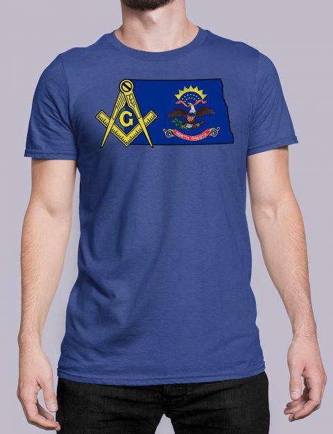 North Dakota Masonic Tee North Dakota royal shirt