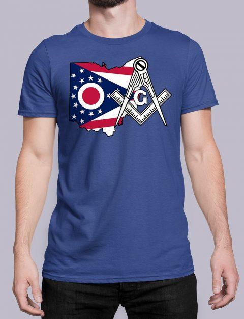 Ohio Masonic Tee Ohio royal shirt