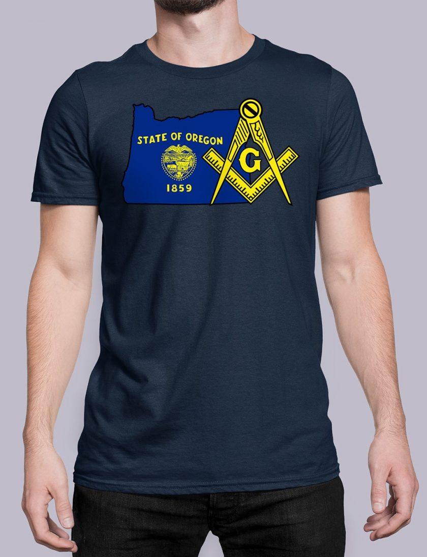 Oregon navy shirt