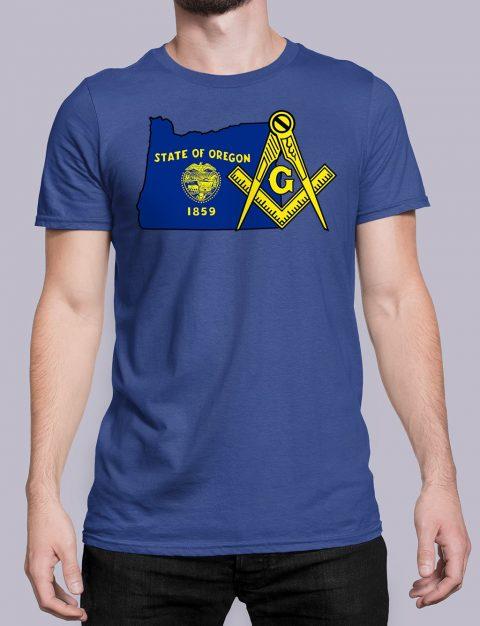 Oregon Masonic Tee Oregon royal shirt