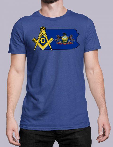 Pennsylvania Masonic Tee Pennsylvania royal shirt