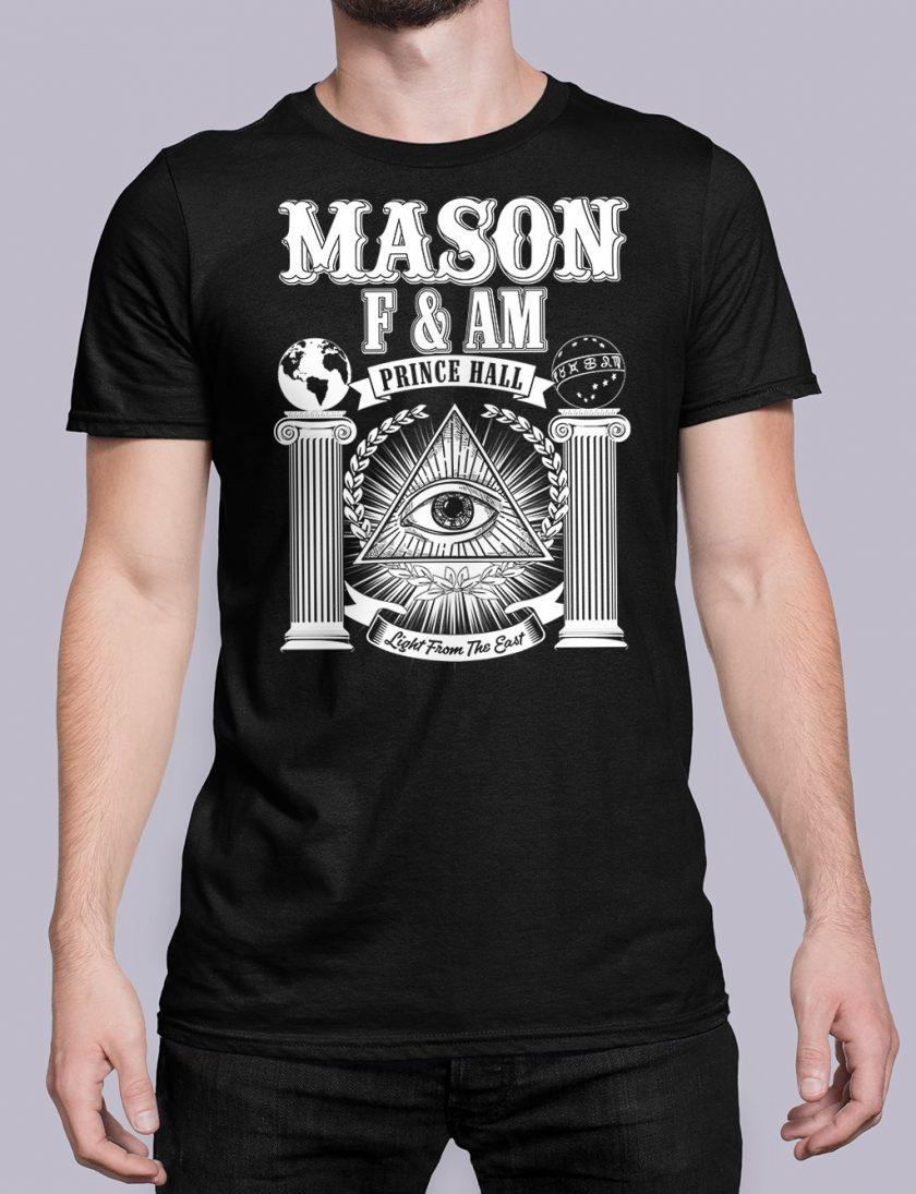 Prince Hall FAM black shirt 29