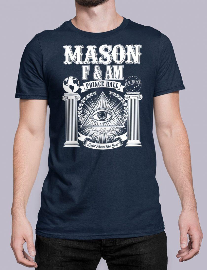 Prince Hall FAM navy shirt 29