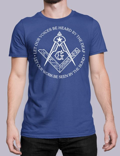 Sacred Work Masonic T-shirt Sacred Work front royal shirt 31